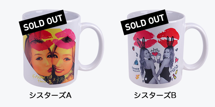 CYBERJAPANDANCERSサイバージャパンダンサーズ渡辺シスターズオリジナルマグカップ