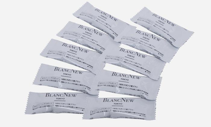 歯科革命 BLANC NEW ホワイトニングスポンジ 10個セット