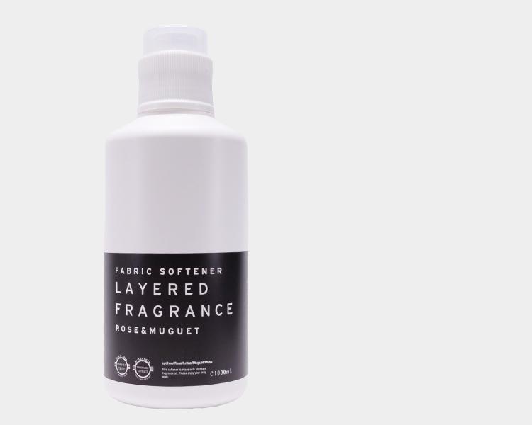 LAYERED FRAGRANCEシリーズ ファブリックソフトナー柔軟剤