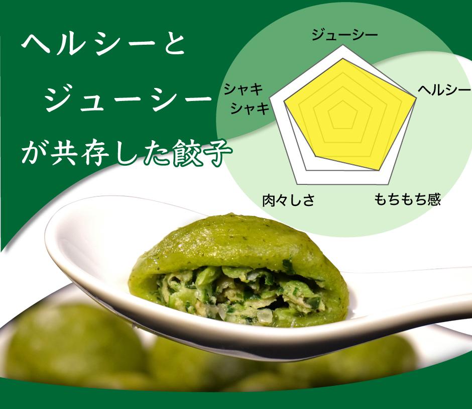 仙台あおば餃子(買えるアベマ限定水餃子3種セット)ジューシーヘルシー
