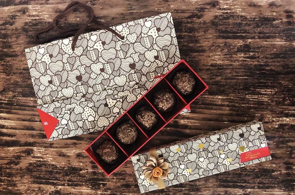 チョコレートで有名なベルギーの老舗ブランドデジレーがつくるバレンタインにおすすめのトリュフ